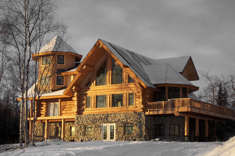 Log Homes Are Not A Luxury They Are A Lifestyle A Log House Allows